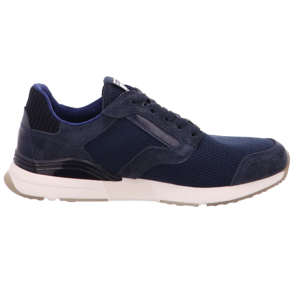 2c3ecd4d9e2ecd Gant-Herren-Andrew-Blaue-Leder-Textil-Sneaker Indexbild 5