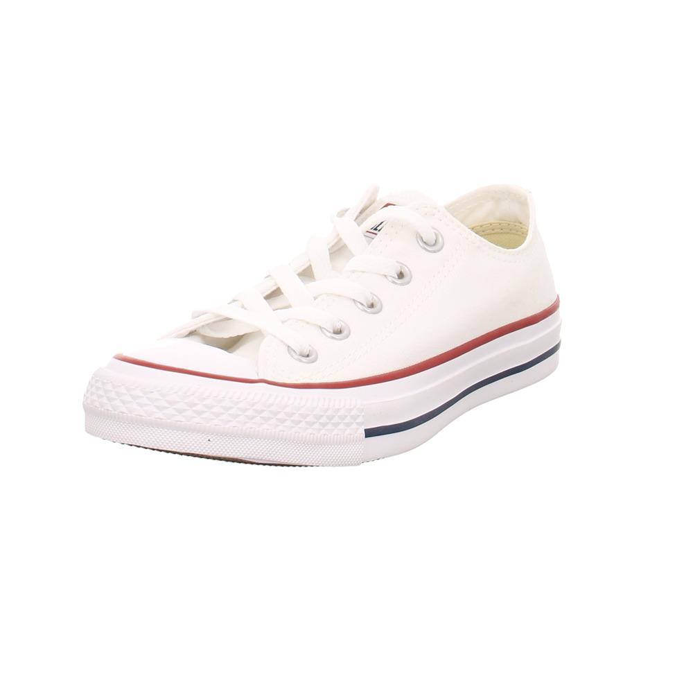 Details zu Converse Damen As Core Ctas Weiße Textil Sneaker