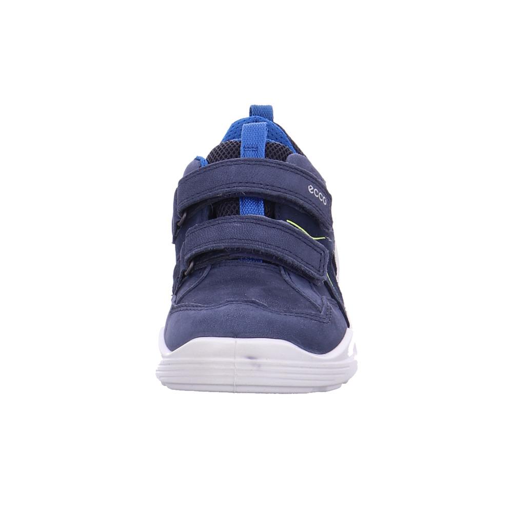 Ecco Kinder Biom Vojage Blaue Leder Leder Leder Slipper c78ce9