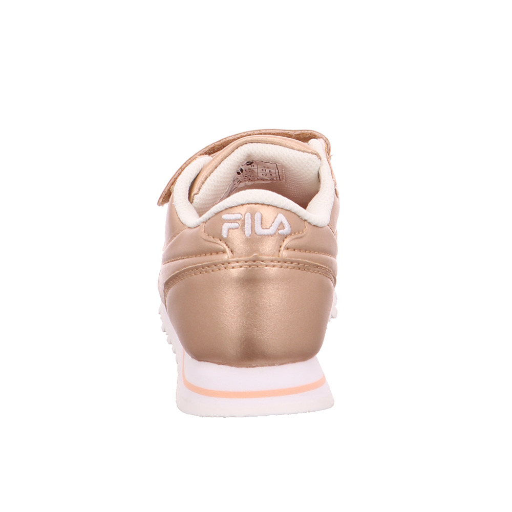 Fila Kinder Orbit Velcro Niedrig Jr Metallic Rosé Rosé Rosé Lederimitat Turnschuhe 18f617