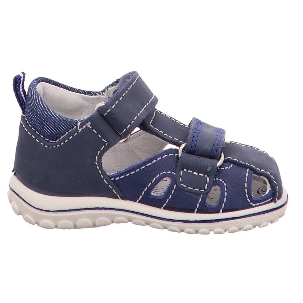 Primigi Kinder 1361411 Blaue Blaue Blaue Nubukleder Lauflernsandale 59053e
