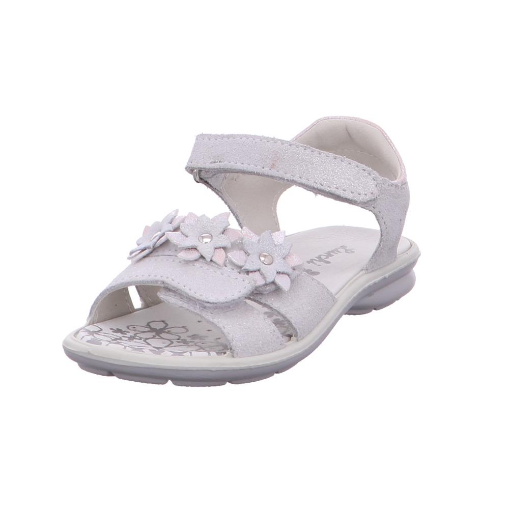 best sneakers 9cfaf 3a27e Details zu Lurchi Kinder Farina Silberne Leder Sandalen